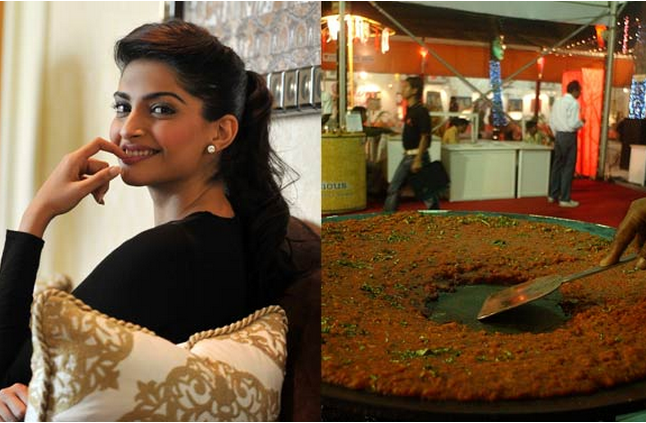 Sonam Kapoor Favourite Food