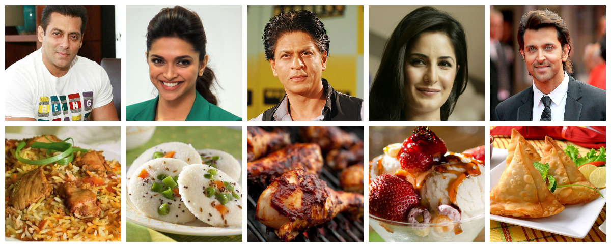 Celeb Favourite Food