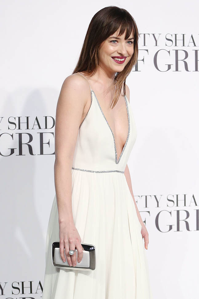 'Fifty Shades of Grey' UK premiere