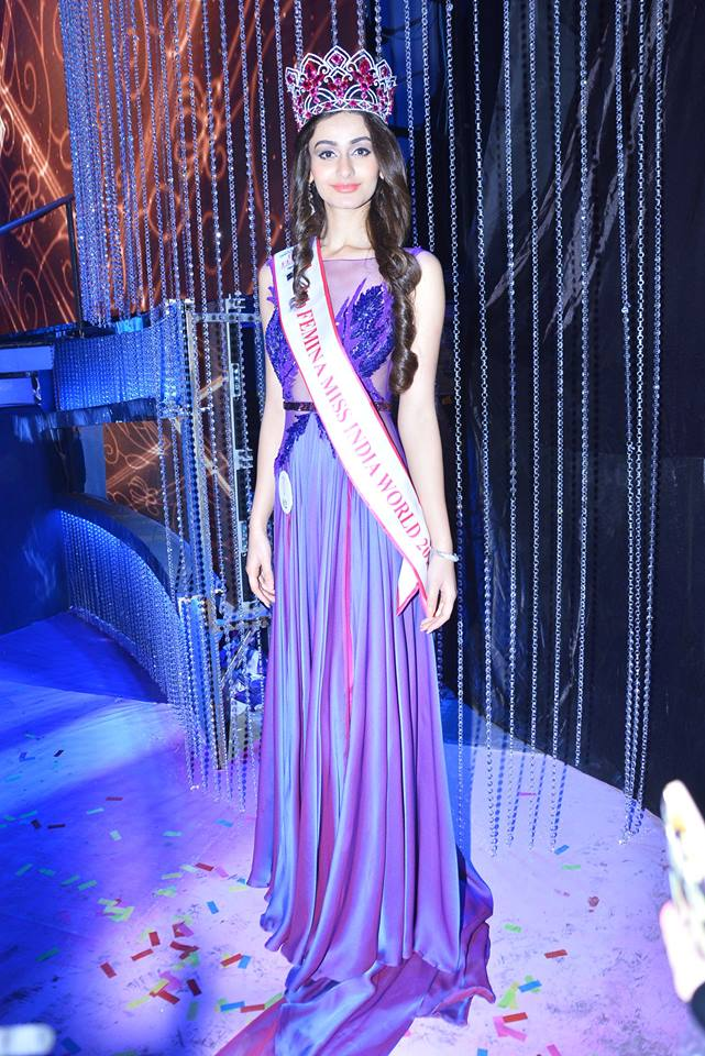 Aditi Arya Miss India World 2015